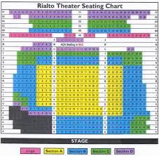 Rialto Seating Chart 2018 Tacoma Opera Association