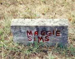 SIMS, MAGGIE - Izard County, Arkansas | MAGGIE SIMS - Arkansas Gravestone  Photos