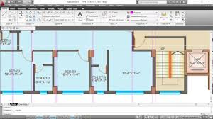 How To Draw Floor Plans How To Draw Floor Plan From A Raster Image In Autocad Part 01