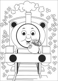 Thomas De Trein Kleurplaten Train Coloring Pages Thomas The