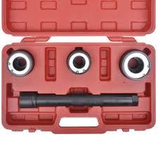 <b>4Pcs Track Rod</b> End Remover Installer Tool Kit Steering Rack Tie ...