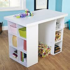 Counter-Height Craft Table, Multiple Colors