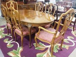 high end dining room furniture. Baker Furniture Dining Table With 6 Chairs High End Room