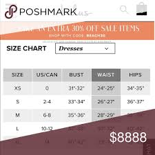 Lulus Size Chart Lulus Size Chart I Thought This Would Be Nice To Have Size