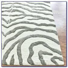 black grey zebra rug rugs home design ideas