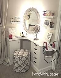 white corner makeup vanity. we have selected the best-looking and most convenient makeup vanity table designs to give you some inspiration for next time redecorate. white corner a