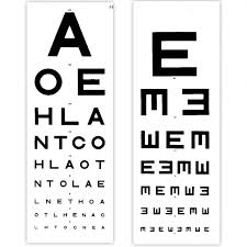 Eye Test Chart 6 Metre Distance Tvh