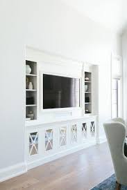 Glamorous Built In Tv Cabinets Cabinet Plans Wall Cupboards Next To  Fireplace Units Awesome Terrific White Bookshelves With Storage Center And  Lights Office ...