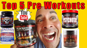 TOP 5 Pre Workout Supplements That WORK in 2016 YouTube
