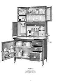 Hoosier Kitchen Cabinets Vintage Home Pinterest Them