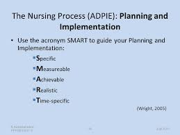 Adpie Charting The Nursing Process Care Planning Michele Archdale Ppt