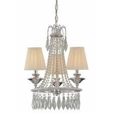 minka lavery 3 light chrome mini chandelier