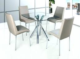 glass dining table and chair sets glass dining table and 4 chairs round table 4