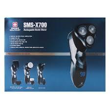 Máy Cạo Râu Đa Năng Bằng Điện 5 Trong 1 Swiss Military SMS- X700 - Dao cạo  râu