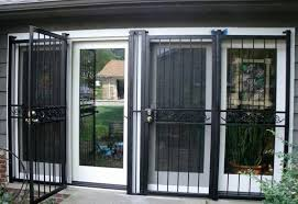 security doors help keep your cleveland area home safe security gate for sliding glass doors