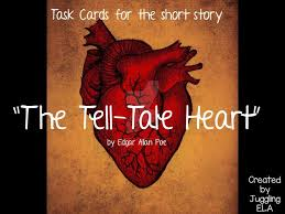 the best the tell tale heart ideas 20 task cards for the short story the tell tale heart by edgar