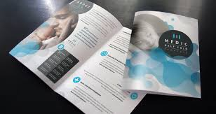 Medic Bi Fold Brochure Template | Brochure Templates | Pixeden