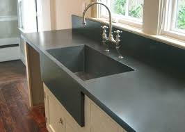 This Modern Double Farmstyle Apron Concrete Sink Is Massive In Concrete Sink Kitchen
