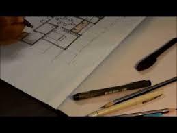 How to draw a house floor plan like an Architect   YouTubePsst