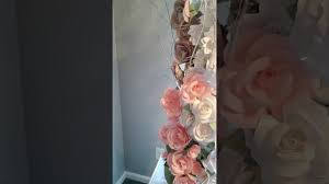 Paper Flower Archway Paper Flower Archway Youtube