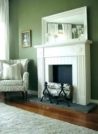 fake mantel fireplace fake fireplace design how to build