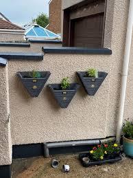 hanging herb planters pots