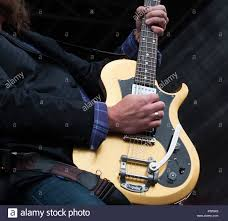 james young guitarist for the eli young band plays during a concert july 16 2016 at ramstein air base germany the band toured ramstein after its pizza