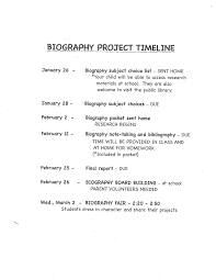 Bibliography School Projects Samples