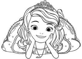 Prinses Sofia Kleurplaat Gratis Kleurplaten Printen