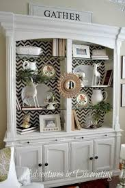 Fall Decorating For China Cabinet Like The Idea Of Adding