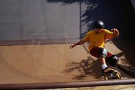 skateboard ramps come in many shapes and sizes