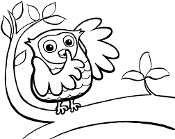 Small Picture Owl Coloring Pages To Print Coloring Coloring Pages