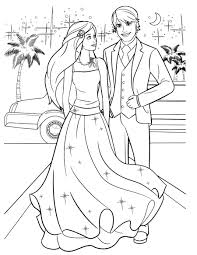 ken and barbiecoloring pages clipart ken colouring pages coloring book barbie doll child