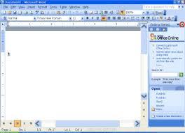 micresoft word microsoft word xp 2003 or 2002