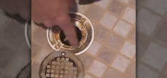 how to clean your shower drain properly plumbing electric wonderhowto