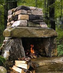 making an outdoor fireplace how to make your backyard awesome ideas 3 outdoor stone make your