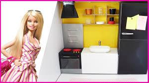 Barbie Kitchen Furniture How To Make A Doll Kitchen Ca3mo Hacer Una Cocina Para Mua Ecas