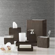 bathroom accessories sets luxury. dark brown bathroom accessories sets luxury bath accessory delano by kassatex contemporary picture add e