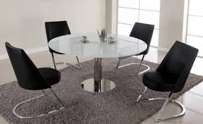 Modern Expandable Round Dining Table Modern Dining Table Extendable Wildwoodstacom