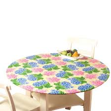Round Plastic Table Covers With Elastic Fitted Elastic Table Cover Butterfly48 Round Durable Vinyl