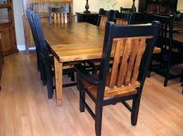 rustic dining room chairs. Wonderful Chairs Rustic Chairs For Dining Room Table And Rough Pine 7  Set With For Rustic Dining Room Chairs