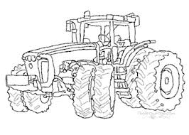 Drawn Tractor Traktor Auto Electrical Wiring Diagram