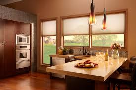 Kitchen Shades Kitchen Window Treatment Ideas 3 Blind Mice Window Coverings
