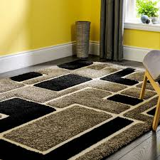 venice imperial grey black abstract rug by flair rugs 1