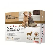 comfortis flea pill for dogs. Comfortis Flea Treatment Brown.1 - Online Shopping For Dogs Pill