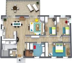 3 bedroom floor plans roomsketcher house bedrooms 2 5 baths 22