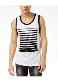 inc international concepts i n c men s stripe front tank created for macy s t shirts
