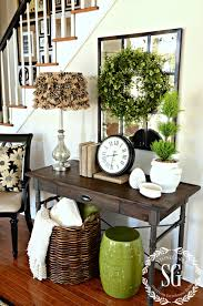 Small Picture Home Design Boxwood Wreath In The Foyer And Giveaway Entry Ways