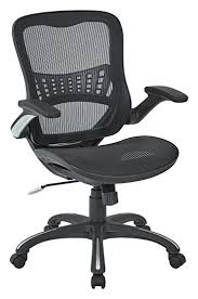 office chair back. Office Star Mesh Back \u0026 Seat, 2-to-1 Synchro Lumbar Support Chair