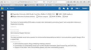 Job Posting Site Job Postings Pepperdine University Pepperdine Community